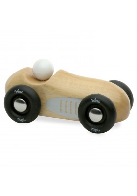 Mini Old Sport Car, natural wood