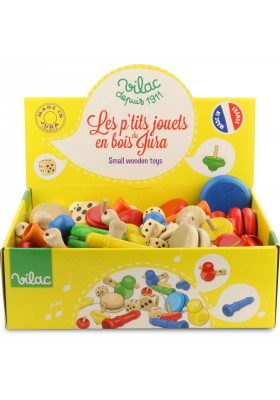 Jura wooden toys display