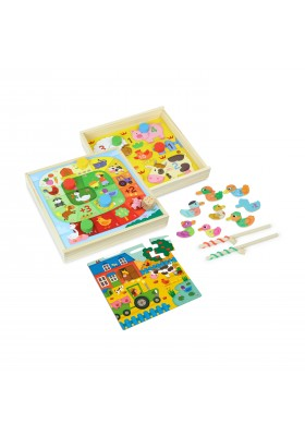 Farm tiny tots game set