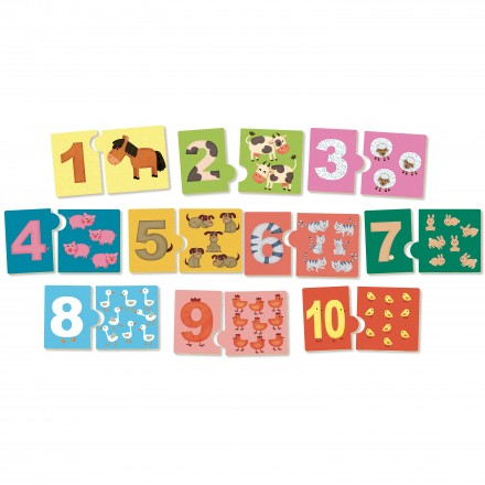 I learn numbers, numbering game