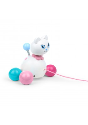Cathy cat, pull toy