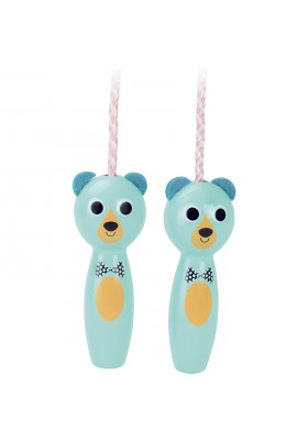 Bear skipping rope