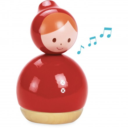 Red riding music box