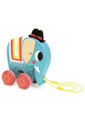 Elephant pull toy