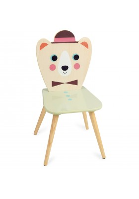 Bear chair with hat