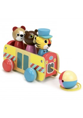 Coach pull toy
