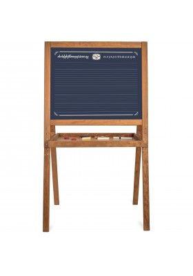 Large on feet school blackboard