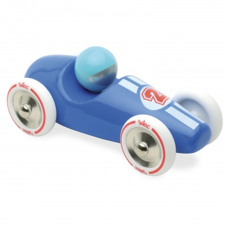 Blue large race car
