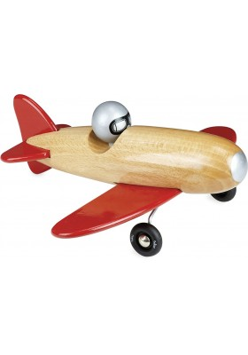 Natural wood aerobatic natural wood and red