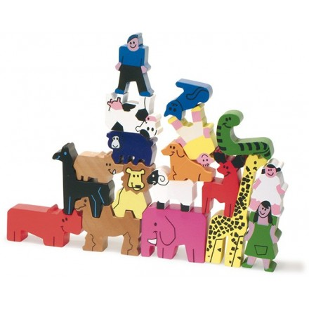 Animals tower 3D puzzle
