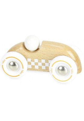 Mini rallye checkers bois naturel