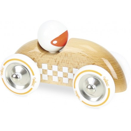 Rallye checkers GM bois naturel