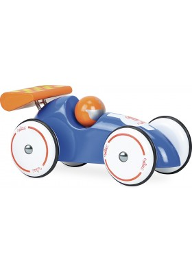 Extra large racing car blue-orange