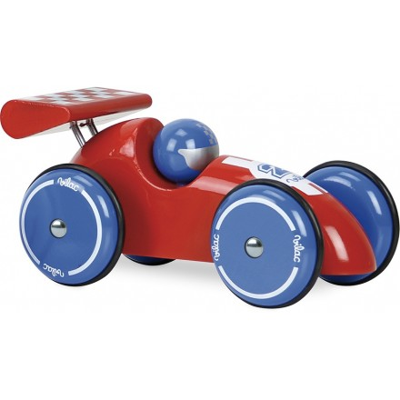 Extra large car red-blue
