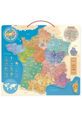 France educative map