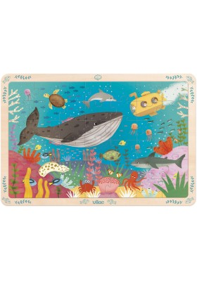 Large puzzle 42pces seabeds