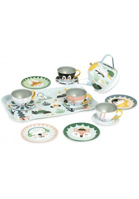 Ice musical tea set
