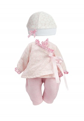 """Clothes """"Bonbon rose"""" for 28 to 35 cm doll"""
