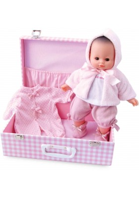 "Baby doll ""MY BABY LOVE"" 36 cm / 14'' in suitcase"