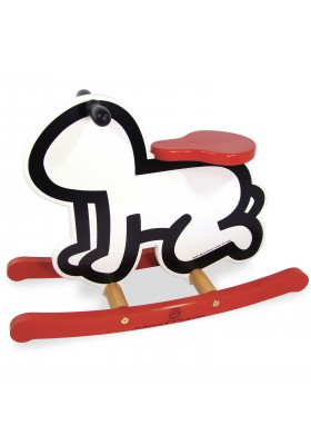 Keith Haring white rocker