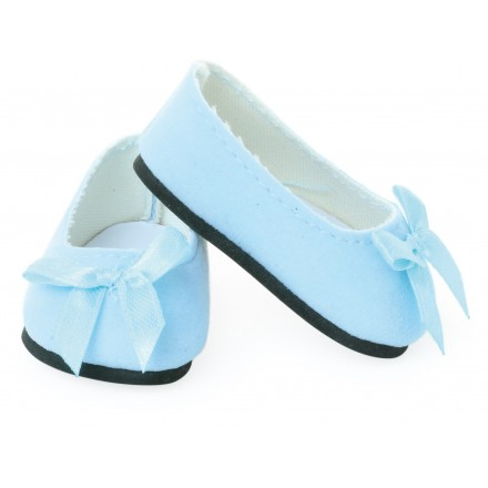 Sky blue ballerina (with blue knot) for 39 / 40 / 48 cm doll