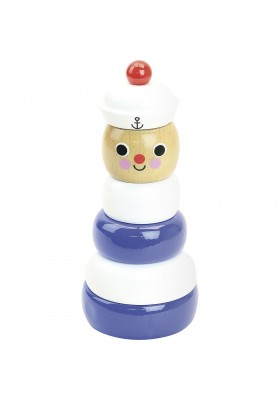 Sailor stacking toy by Ingela P. Arrhenius