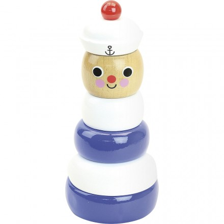 Sailor stacking toy