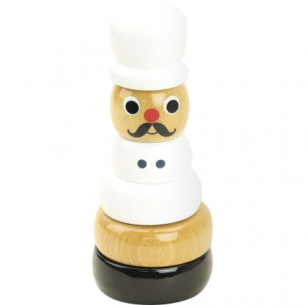 Cook stacking toy