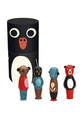 Magnetic animals set