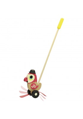 Parrot push toy