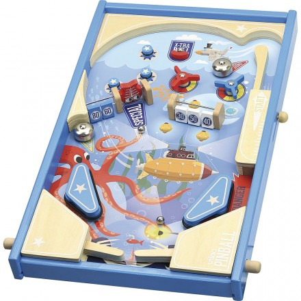 Under the sea wooden pinball