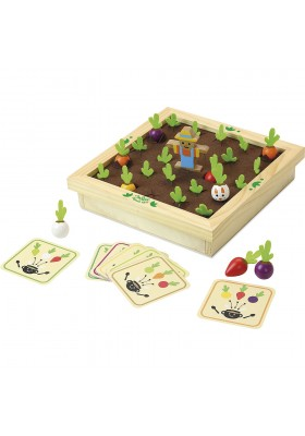 Vegetables garden memory game