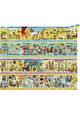 Large historical frieze puzzle (Only in French)