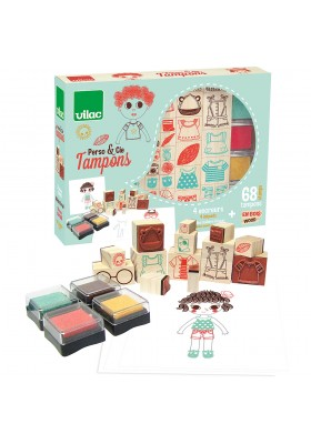 Coffret tampons Perso & cie