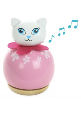 Cat music box