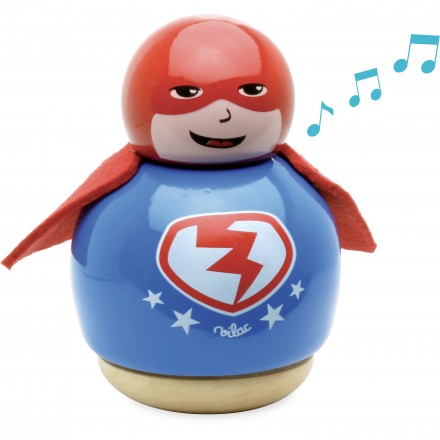 Superhero music box