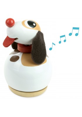 Doggy music box