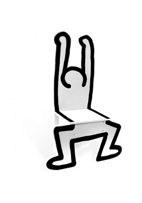Keith Haring white chair