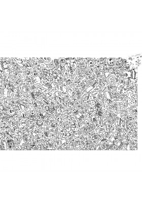 Puzzle 500 pces Keith Haring