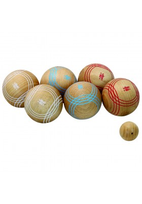 Competition petanque ball set