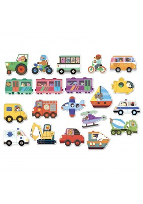 Magnets des transports