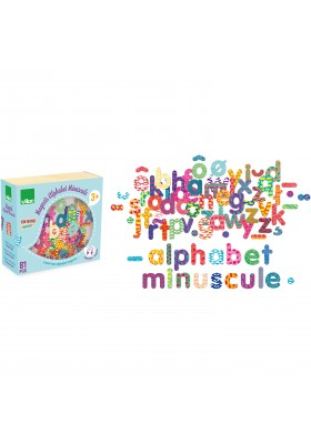 81 small letter alphabet magnets