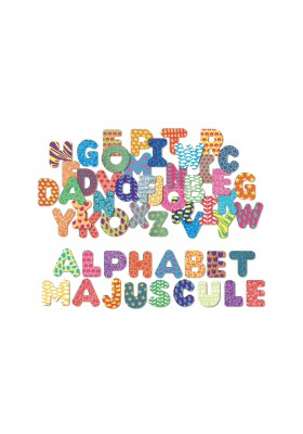 Magnets Alphabets majuscule 56 pcs