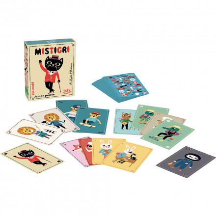 Mistrigri card game by Ingela P.Arrhenius
