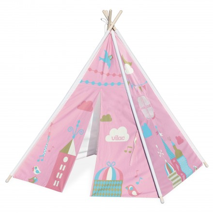 Neverland teepee by Ingela P. Arrhenius