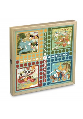 Pirates & Knights wooden games set
