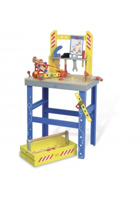 Large workbench with accessories