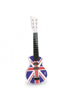 Union Jack rock'n'roll guitar