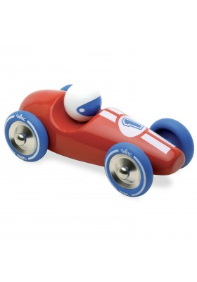 Red large race car