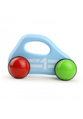 Blue baby car with handle